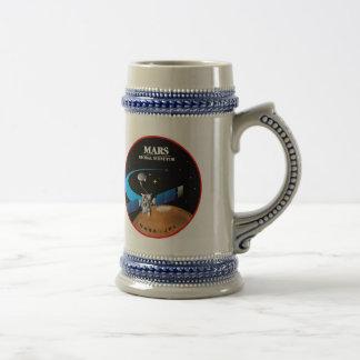 Mars Global Surveyor Beer Stein