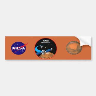 Mars Global Surveyor Bumper Sticker
