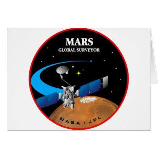Mars Global Surveyor Card