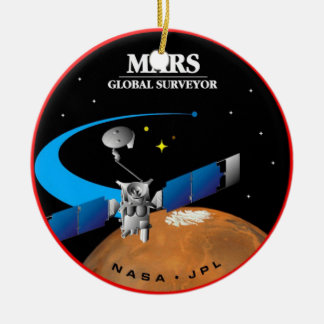 Mars Global Surveyor Ceramic Ornament