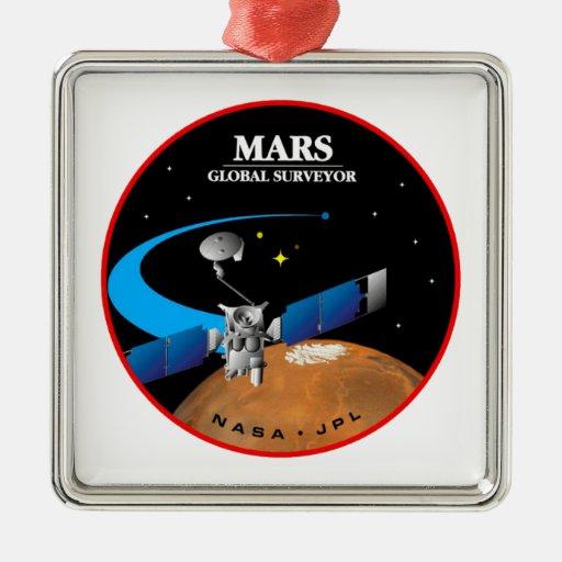 Mars Global Surveyor Adorno De Reyes