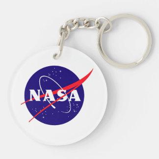 Mars Global Surveyor Double-Sided Round Acrylic Keychain