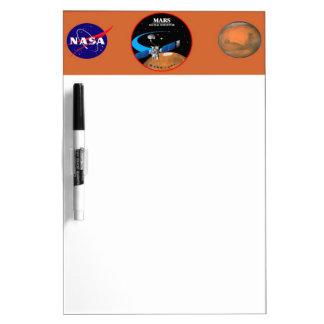 Mars Global Surveyor Dry-Erase Whiteboard