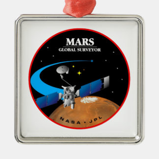 Mars Global Surveyor Metal Ornament