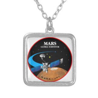 Mars Global Surveyor Necklaces