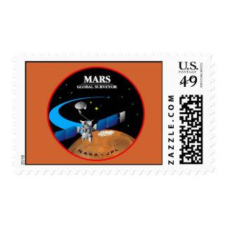 Mars Global Surveyor Postage