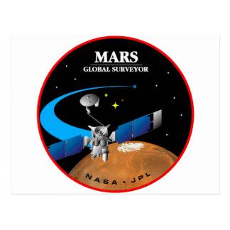 Mars Global Surveyor Postcard