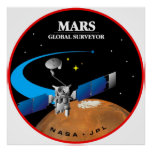 Mars Global Surveyor Poster