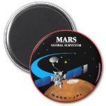 Mars Global Surveyor Refrigerator Magnets