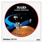 Mars Global Surveyor Wall Skins