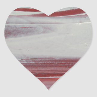 Mars Heart Sticker
