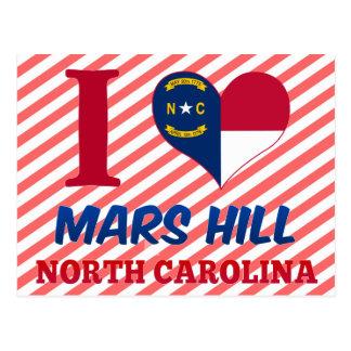 Mars Hill, North Carolina Postcard