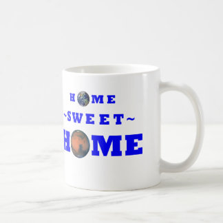 Mars Home Sweet Home Coffee Mug