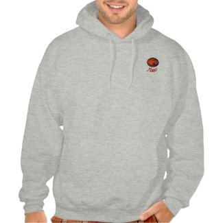 Mars Hooded Sweatshirt--The Mysterious Red Planet