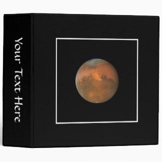 Mars (Hubble Telescope) Vinyl Binders