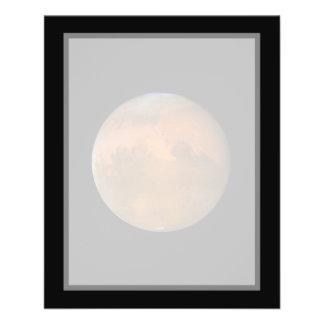 Mars (Hubble Telescope) Flyer Design