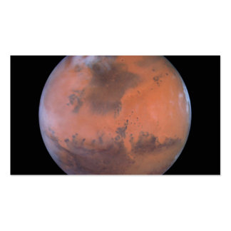 Mars Image Centered Near Location of Pathfinder Double-Sided Standard Business Cards (Pack Of 100)