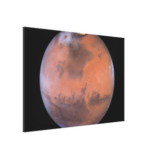 Mars Image Centered Near Location of Pathfinder Canvas Print
