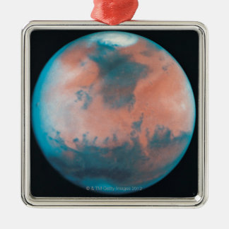 Mars in Opposition Christmas Tree Ornament