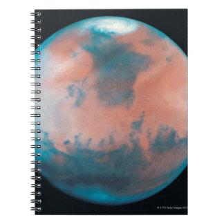 Mars in Opposition Spiral Note Book
