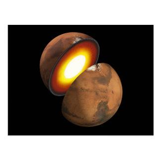 Mars Interior Postcard