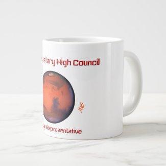 Mars--Interplanetary High Council Jumbo Mug - 20oz