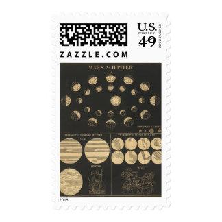 Mars & Jupiter Stamp