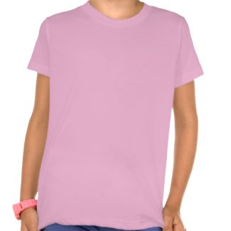 Mars Kanjii Crew Neck T-Shirt For Girls