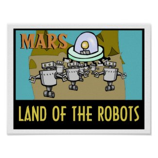 MARS - LAND OF THE ROBOTS POSTER