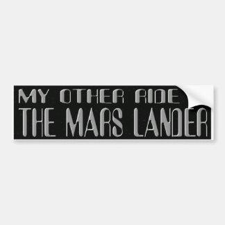 MARS LANDER BUMPER STICKER