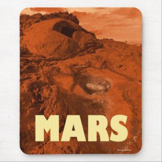 Mars landscape mouse pad