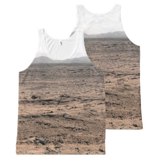 Mars Landscape Panorama All-Over-Print Tank Top
