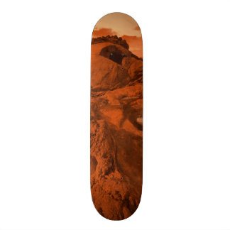 Mars landscape skateboard