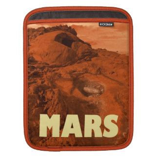 Mars landscape sleeve for iPads