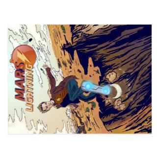 Mars Lightning Postcard