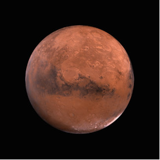 Mars Martian Space Astronomy Cut Out