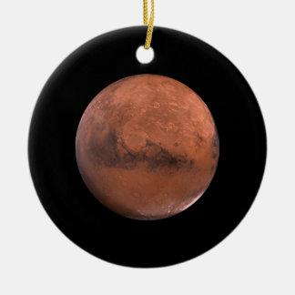 Mars Martian Space Astronomy Christmas Ornament