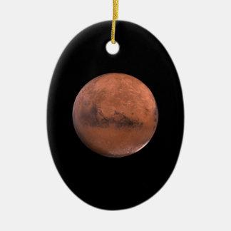 Mars Martian Space Astronomy Christmas Tree Ornaments