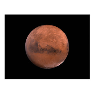 Mars Martian Space Astronomy Postcard