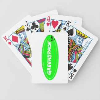 Mars mission bicycle playing cards
