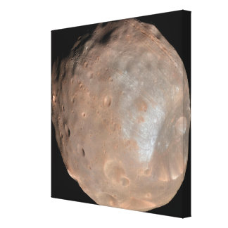 Mars moon Phobos Canvas Print
