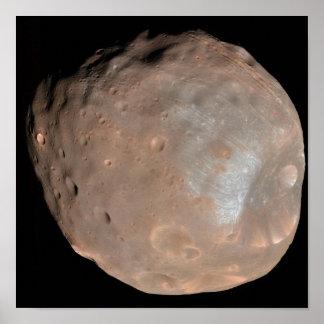 Mars moon Phobos Poster