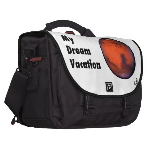 "Mars ""My Dream Vacation"" Commuter Laptop Bag"