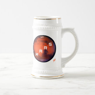 Mars -- Mysterious Planet Beer Stein
