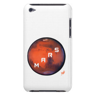 Mars -- Mysterious Planet -- iPod Touch Case