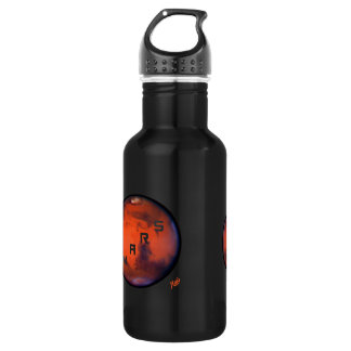 Mars - Mysterious Planet Stainless Steel Water Bottle
