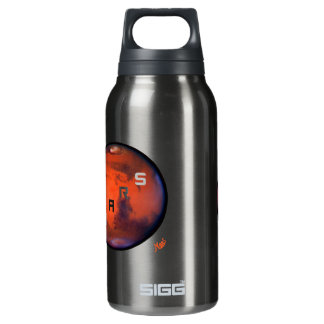 Mars - Mysterious Planet Thermos Water Bottle