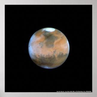 Mars Near Opposition Poster