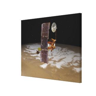 Mars Odyssey spacecraft Canvas Print