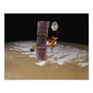 Mars Odyssey spacecraft Photograph